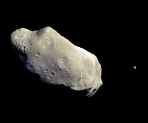asteroid with its own moon