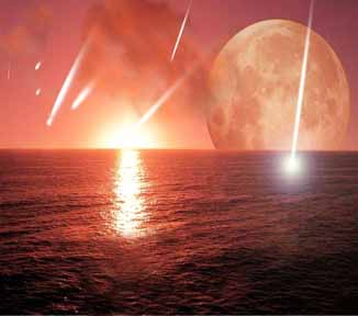 Comet Bombardement of Early Earth