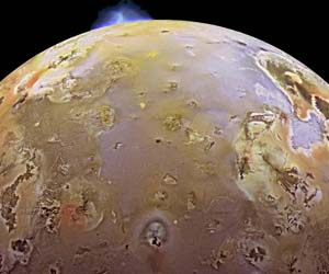 surface of io
