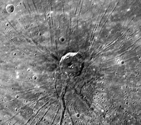 Spider Impact crater
