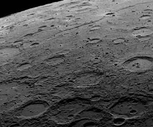 surface of mercury