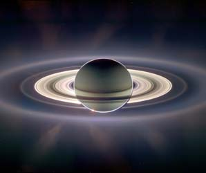 saturn eclipse of the sun