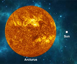 Arcturus Star - Facts About Arcturus | Solarsystemquick.com