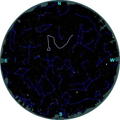 finding draco northern hemisphere
