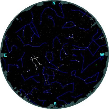 finding gemini northern hemisphere