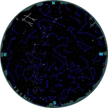 finding gemini southern hemisphere