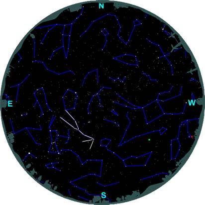finding taurus northern hemisphere