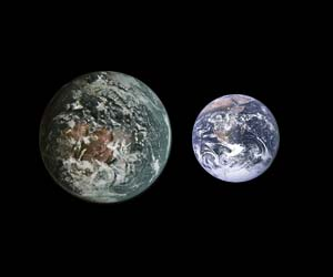 gliese 581g to earth comparison - photo #8