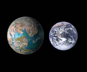 gliese 581g to earth comparison - photo #1