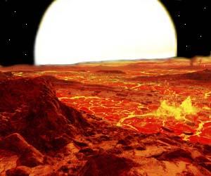 Kepler 10b surface