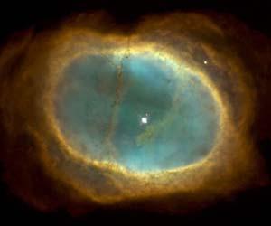 ring nebula white dwarf