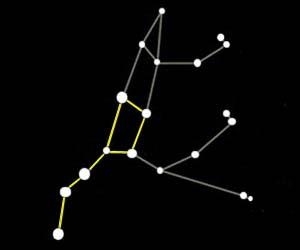 Ursa Major And Ursa Minor Constellation